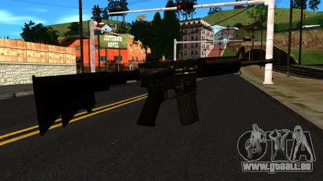 M4 from GTA 4 für GTA San Andreas zweiten Screenshot