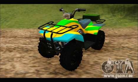 ATV Color Camo Army Edition pour GTA San Andreas