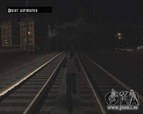 Colormod High Black pour GTA San Andreas huitième écran
