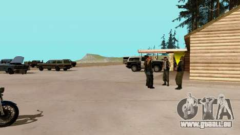 Recovery-Stationen San Fierro Land für GTA San Andreas elften Screenshot