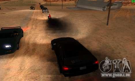 De nouvelles voies de transport pour GTA San Andreas huitième écran