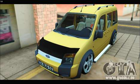 Ford Transit Connect für GTA San Andreas