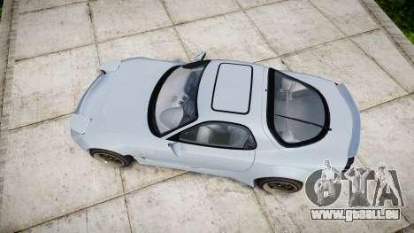Mazda RX-7 RocketBunny für GTA 4 rechte Ansicht