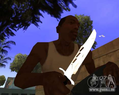 White Chrome Gun Pack pour GTA San Andreas douzième écran