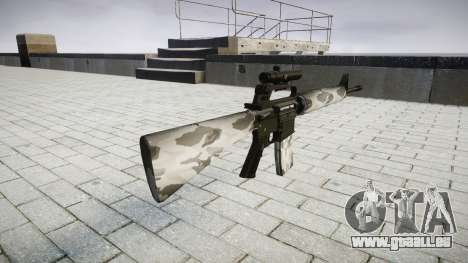 Le M16A2 fusil [optique] yukon pour GTA 4 secondes d'écran