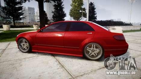 Benefactor Schafter Mercedes-Benz für GTA 4 linke Ansicht