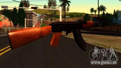 AK47 from Chernobyl 3: Underground für GTA San Andreas zweiten Screenshot