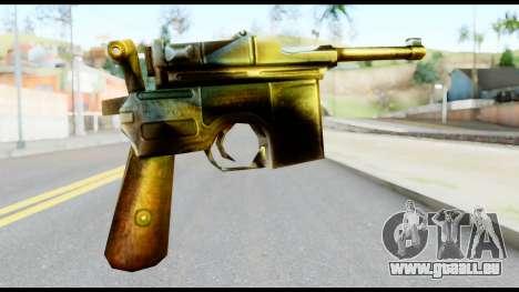 Mauser from Metal Gear Solid pour GTA San Andreas deuxième écran