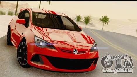 Vauxhall Astra VXR pour GTA San Andreas