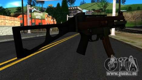 UMP9 from Battlefield 4 v2 für GTA San Andreas zweiten Screenshot