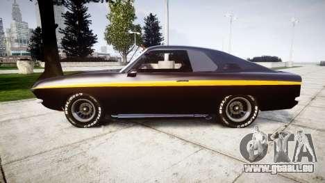 Opel Manta A Black Magic für GTA 4 linke Ansicht