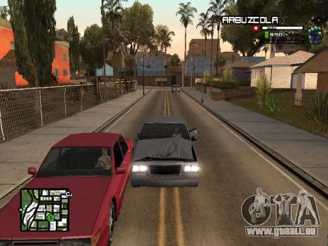 CLEO HUD by SampHack v.20 für GTA San Andreas