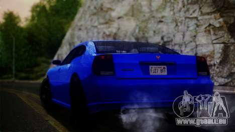 Bravado Buffalo Sedan v1.0 (IVF) pour GTA San Andreas laissé vue