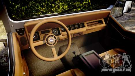 Jeep Wrangler 1988 für GTA 4 Rückansicht