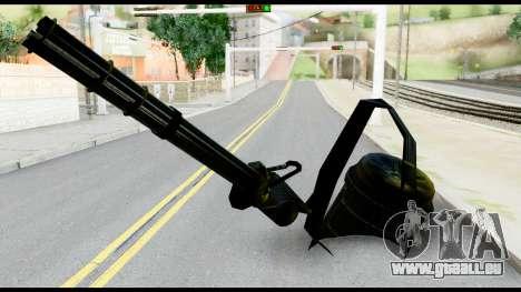 Raven Vulcan Gun from Metal Gear Solid für GTA San Andreas