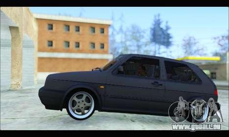 VW Golf MK2 pour GTA San Andreas laissé vue