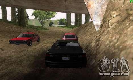 De nouvelles voies de transport pour GTA San Andreas septième écran