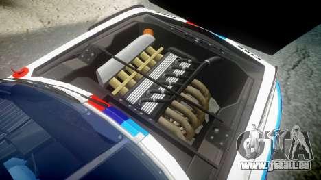 BMW 3.0 CSL Group4 [32] pour GTA 4 Vue arrière