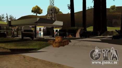 Recovery-Stationen San Fierro Land für GTA San Andreas her Screenshot