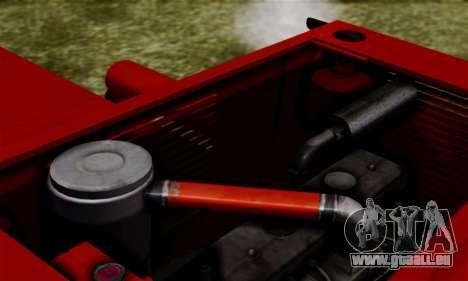 FMZ BIZON Super Z056 1985 Red für GTA San Andreas Innenansicht