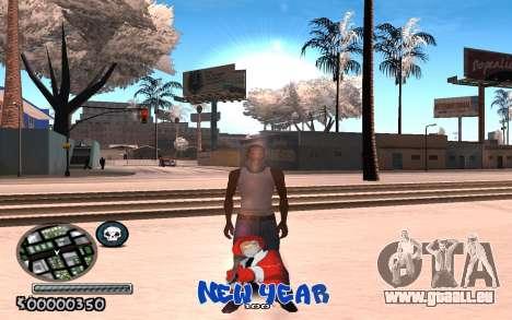 C-HUD New Year pour GTA San Andreas