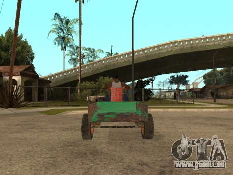 Batmobil für GTA San Andreas linke Ansicht
