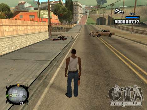 HUD by LMOKO pour GTA San Andreas