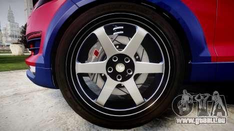 Audi Q7 2009 ABT Sportsline für GTA 4 Rückansicht