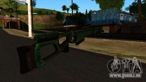 SV-98 sans le Bipied et Champ d'application pour GTA San Andreas deuxième écran