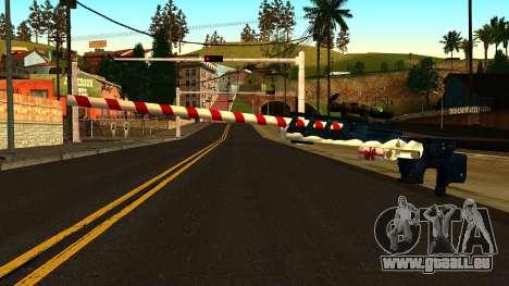 Nouvelle Année Fusil De Sniper pour GTA San Andreas