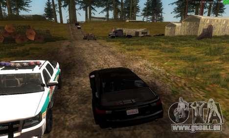 De nouvelles voies de transport pour GTA San Andreas sixième écran