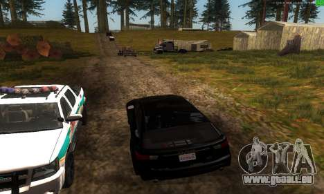 Neue Verkehrswege für GTA San Andreas sechsten Screenshot