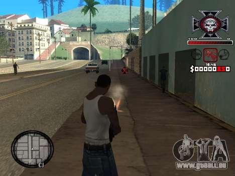 C-HUD for Ghetto pour GTA San Andreas deuxième écran
