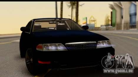 Toyota Mark 2 100 pour GTA San Andreas vue de droite