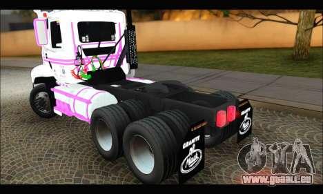 Mack Vision Pinnacle 2010 für GTA San Andreas zurück linke Ansicht
