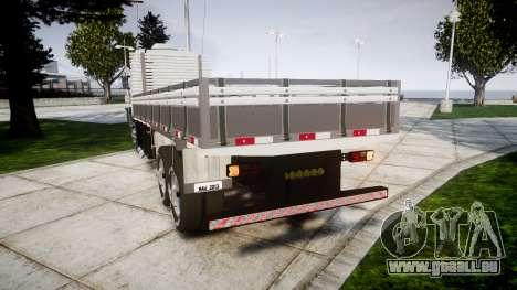 Scania 124G 400 pour GTA 4 Vue arrière de la gauche