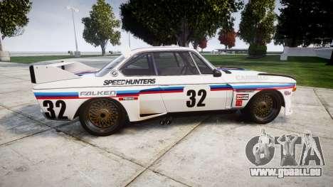 BMW 3.0 CSL Group4 [32] für GTA 4 linke Ansicht