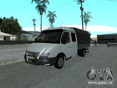 GAZelle 33023 Farmer pour GTA San Andreas