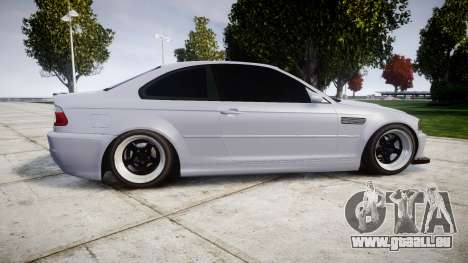 BMW E46 M3 pour GTA 4 est une gauche