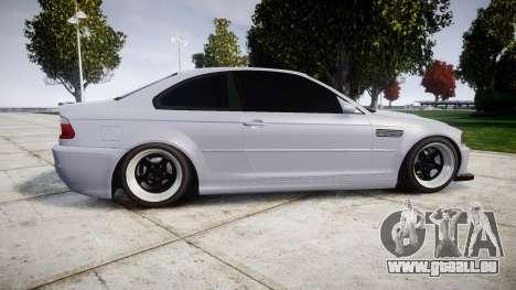 BMW E46 M3 für GTA 4 linke Ansicht