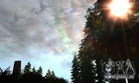 Behind Space Of Realities: American Dream pour GTA San Andreas quatrième écran