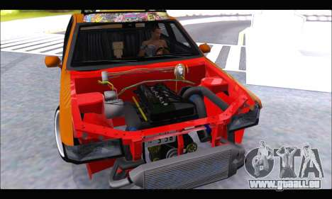 Taxi Extreme Tuning (Hellalfush) pour GTA San Andreas vue de droite