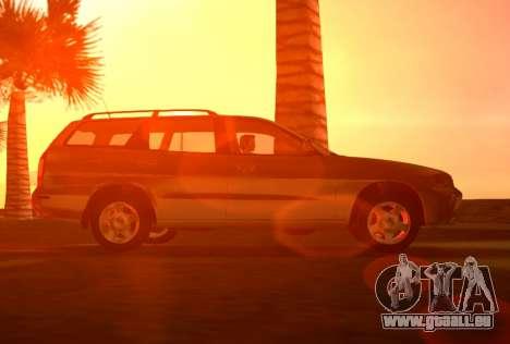 Daewoo Nubira I Wagon CDX US 1999 pour GTA Vice City vue arrière