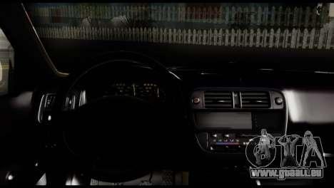 Honda Civic 1.4 Mehmet ALAN für GTA San Andreas zurück linke Ansicht