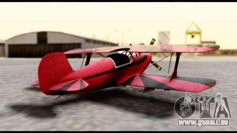 Beta Stuntplane pour GTA San Andreas laissé vue