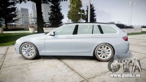 BMW 525d F11 2014 Facelift [ELS] Unmarked pour GTA 4 est une gauche