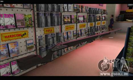 GTA V Musket für GTA San Andreas dritten Screenshot