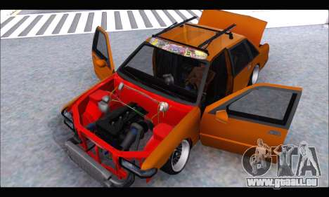 Taxi Extreme Tuning (Hellalfush) pour GTA San Andreas vue arrière
