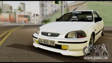 Honda Civic 1.4 Mehmet ALAN pour GTA San Andreas