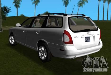 Daewoo Nubira I Wagon CDX US 1999 für GTA Vice City linke Ansicht